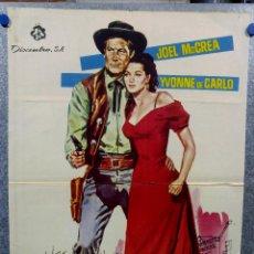 Cine: SAN FRANCISCO STORY. JOEL MCCREA, YVONNE DE CARLO. AÑO 1964. Lote 143401226