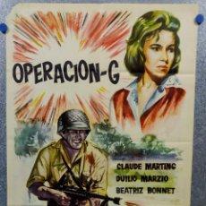 Cine: OPERACION - G. CLAUDE MARTING, DUILIO MARZIO, BEATRIZ BONNET. AÑO 1963. POSTER ORIGINAL. Lote 143402410