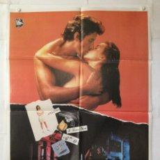 Cine: SIN ALIENTO VIVIR - POSTER CARTEL ORIGINAL - BREATHLESS RICHARD GERE VALERIE KAPRISKY LAUREN FILMS. Lote 143705298
