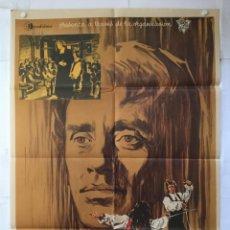 Cine: EL SEÑOR DE LA SALLE - POSTER CARTEL ORIGINAL - MEL FERRER LUIS CESAR AMADORI FERNANDO REY. Lote 143739838