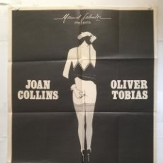 Cine: EL SEMENTAL - POSTER CARTEL ORIGINAL - THE STUD JOAN COLLINS OLIVER TOBIAS SUE LLOYD . Lote 143743342
