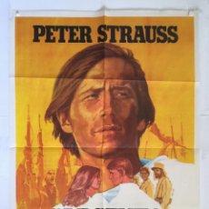 Cine: SARGENTO KLEMS - POSTER CARTEL ORIGINAL - PETERS STRAUS TINA AUMENT LEGION EXTRANGERA FOREIGN LEGION. Lote 143811494