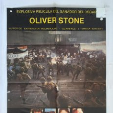 Cine: SALVADOR - POSTER CARTEL ORIGINAL - OLIVER STONE GUERRA CIVIL JIM BELUSHI JOHN SAVAGE . Lote 143816390