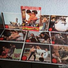 Cine: 9 FOTOCROMOS TAMAÑO POSTER BRUCE LEE EL RETORNO DEL TIGRE. Lote 143824381