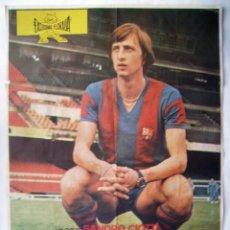 Cine: EL PROFETA DEL GOL, DE SANDRO CIOTTI . POSTER 69 X 99 CMS. 1976.. Lote 143845058