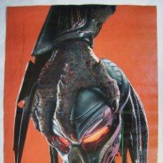 Cine: PREDATOR, LA CAZA HA EVOLUCIONADO. POSTER PROMOCIONAL 68 X 99 CMS. 1976.. Lote 143846646