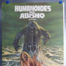 Cine: HUMANOIDES DEL ABISMO. DOUG MCCLURE, ANN TURKEL, VIC MORROW. AÑO 1984. Lote 172988673