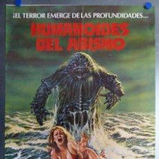 Cine: HUMANOIDES DEL ABISMO. DOUG MCCLURE, ANN TURKEL, VIC MORROW. AÑO 1980. Lote 194760181