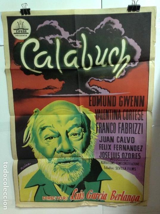 CALABUCH - CARTEL ORIGINAL 70X100 (Cine - Posters y Carteles - Clasico Español)