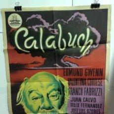 Cine: CALABUCH - CARTEL ORIGINAL 70X100. Lote 144017882