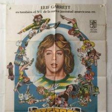 Cine: SKATEBOARD - POSTER CARTEL CINE ORIGINAL - LEIF GARRETT ALLEN GARFIELD GEORGE GAGE MONOPATIN. Lote 144380690