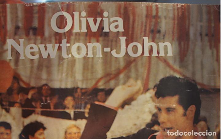 Cine: Poster original de la película Grease, -Grease is the Word-.En ingles. Año 1978 - Foto 3 - 144464126