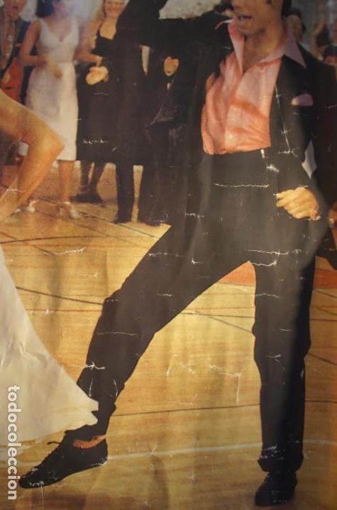 Cine: Poster original de la película Grease, -Grease is the Word-.En ingles. Año 1978 - Foto 4 - 144464126