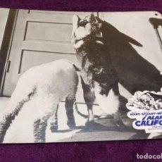 Cine: ALARMA EN CALIFORNIA (1961) . BUDDY HART - WENDY STUART - CARLYLE MITCHEL. Lote 144495602