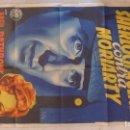 Cine: SHERLOCK HOLMES CONTRA MORIARTY. CARTEL ORIGINAL ESPAÑA. SOLIGÓ. 1939. 70X100.. Lote 144524530
