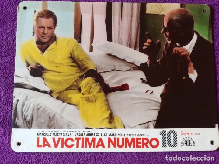 LA VICTIMA NUMERO 10 (1967 ) MARCELLO MASTROIANNI - URSULA ANDRESS - ELSA MARTINELLI (Cine- Posters y Carteles - Drama)