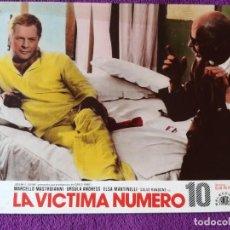 Cine: LA VICTIMA NUMERO 10 (1967 ) MARCELLO MASTROIANNI - URSULA ANDRESS - ELSA MARTINELLI. Lote 144549702