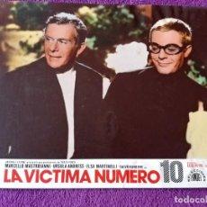 Cine: LA VICTIMA NUMERO 10 (1967 ) MARCELLO MASTROIANNI - URSULA ANDRESS - ELSA MARTINELLI. Lote 144549830