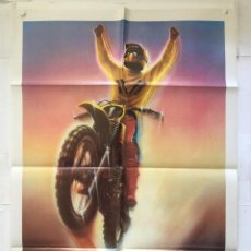 Cine: SUPERHOMBRES - POSTER CARTEL ORIGINAL - ON ANY SUNDAY II ED FORSYTH MOTO MOTORCYCLE. Lote 145524818