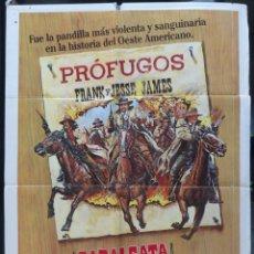 Cine: CABALGATA INFERNAL POSTER INTERNACIONAL USA EN ESPAÑOL,AÑO 1980, DAVID CARRADINE,UNITED ARTISTS. Lote 145552906