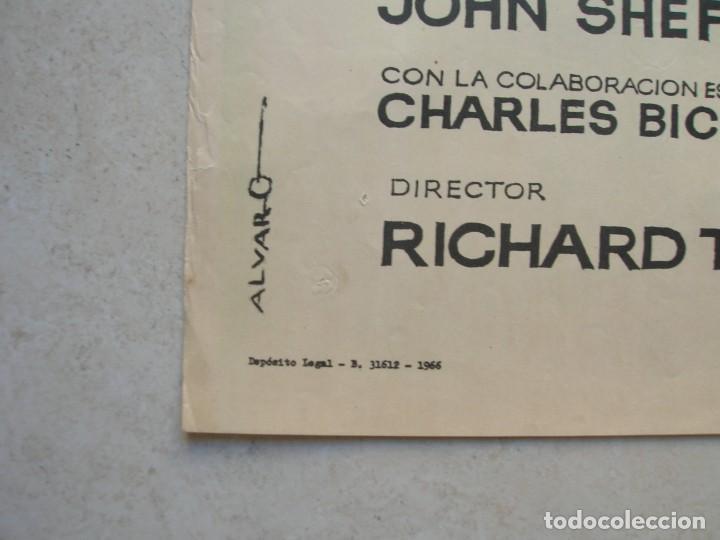 Cine: Tarzan en Nueva York.Johnny Weissmüller. Cartel original.Tamaño: 100 x 70 ctms. - Foto 5 - 145630914