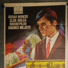 Cine: EL DIA DE MAÑANA. OSCAR MONZO, ELSA BAEZA, NACHO PILAR, ANDRES MEJUTO. AÑO 1968. Lote 145632666