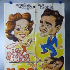 Cine: X-22 - AMELITA VARGAS, LEO MARIN, TITO CLIMENT - AÑO 1962. Lote 145683834