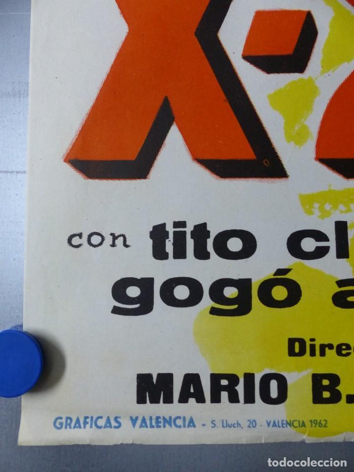 Cine: X-22 - AMELITA VARGAS, LEO MARIN, TITO CLIMENT - AÑO 1962 - Foto 2 - 145683834