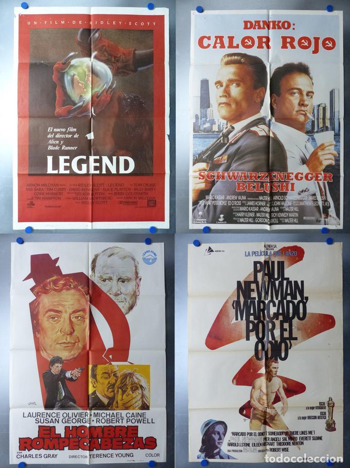 15 CARTELES DE CINE DISTINTOS, VER DESCRIPCION Y FOTOS (Cine - Posters y Carteles - Acción)