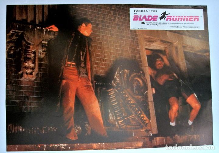 BLADE RUNNER FOTO POSTER ESCENA , WARNER ESPAÑOLA 1982 (Cine - Posters y Carteles - Acción)