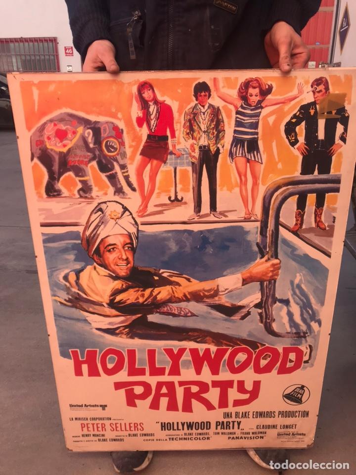 ANTIGUO CARTEL HOLLYWOOD PARTY (Cine - Posters y Carteles - Comedia)