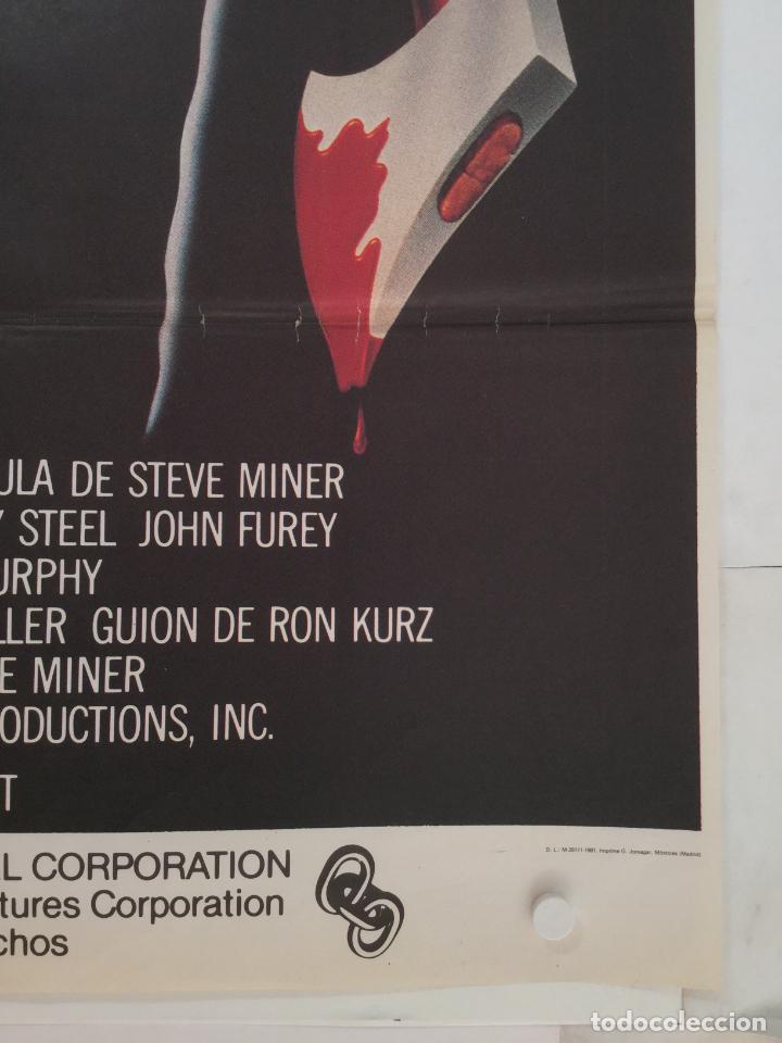 Cine: viernes 13 2ª parte - poster cartel original - steve miner Friday the 13th Part 2 jason - Foto 2 - 146020050