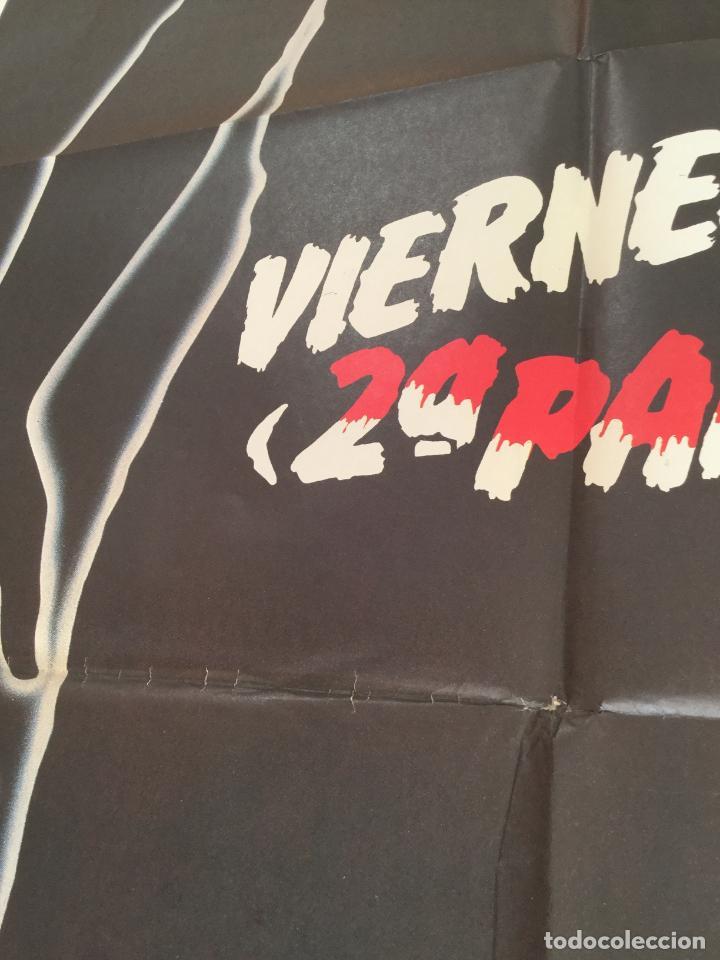 Cine: viernes 13 2ª parte - poster cartel original - steve miner Friday the 13th Part 2 jason - Foto 3 - 146020050
