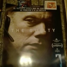 Cine: POSTER ORIGINAL THE GUILTY 100X70. Lote 146026738