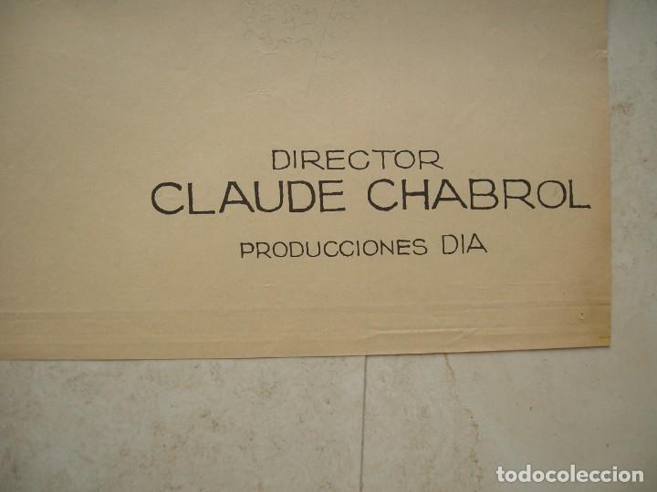 Cine: Maria Chantal contra Dr.Kha. Cartel de cine original.Tamaño: 98 x 66 ctms. - Foto 4 - 146139150