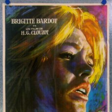 Cine: LA VERITE. BRIGITTE BARDOT. AÑO 1970. Lote 146875058