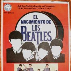 Cine: EL NACIMIENTO DE LOS BEATLES. Lote 147008538