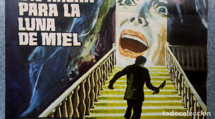 Cine: UN HACHA PARA LA LUNA DE MIEL. STEPHEN FORYSTH, DAGMAR LASSANDER, LAURA BETTY JESUS PUENTE. AÑO 1970 - Foto 3 - 201179058