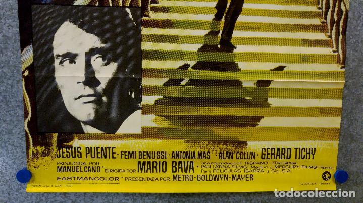 Cine: UN HACHA PARA LA LUNA DE MIEL. STEPHEN FORYSTH, DAGMAR LASSANDER, LAURA BETTY JESUS PUENTE. AÑO 1970 - Foto 4 - 201179058