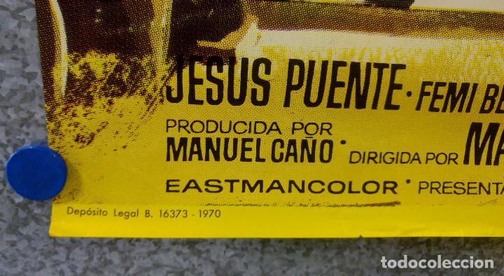 Cine: UN HACHA PARA LA LUNA DE MIEL. STEPHEN FORYSTH, DAGMAR LASSANDER, LAURA BETTY JESUS PUENTE. AÑO 1970 - Foto 5 - 201179058