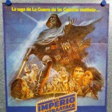 Cine: CARTEL POSTER DE CINE - LA GUERRA DE LAS GALAXIAS, EL IMPERIO CONTRAATACA, HARRISON FORD. AÑO 1980 . Lote 147075814