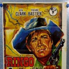 Cine: RINGO DE NEBRASKA. KEN CLARK, YVONNE BASTIEN . AÑO 1966. Lote 147245286