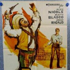Cine: BRANDY EL SHERIFF DE LOSATUMBA ALEX NICOLS, MAITE BLASCO, JORGE RIGAUD . AÑO 1973. Lote 147246714