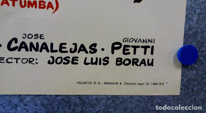 Cine: BRANDY EL SHERIFF DE LOSATUMBA ALEX NICOLS, MAITE BLASCO, JORGE RIGAUD . AÑO 1973 - Foto 3 - 147246714