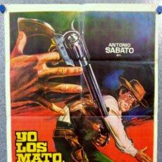 Cine: YO LOS MATO, TU COBRAS LA RECOMPENSA. ANTONIO SABATO, CHRIS AVRAM. AÑO 1972. Lote 147248050