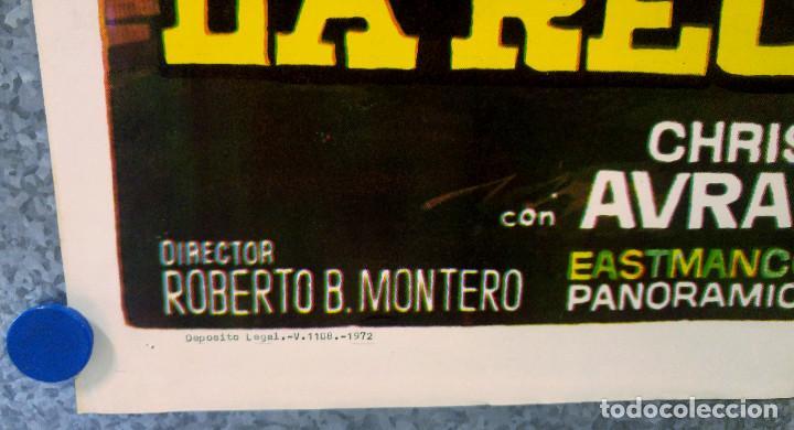 Cine: YO LOS MATO, TU COBRAS LA RECOMPENSA. ANTONIO SABATO, CHRIS AVRAM. AÑO 1972 - Foto 5 - 147248050
