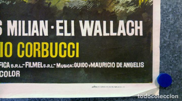 Cine: EL BLANCO EL AMARILLO Y EL NEGRO. GIULIANO GEMMA, TOMA MILIAN, ELI WALLACH. AÑO 1975 - Foto 5 - 147250622