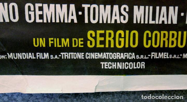Cine: EL BLANCO EL AMARILLO Y EL NEGRO. GIULIANO GEMMA, TOMA MILIAN, ELI WALLACH. AÑO 1975 - Foto 6 - 147250622