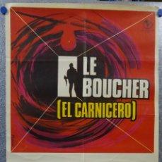 Cine: EL CARNICERO. STEPHANE AUDRAN, JEAN VANNE, CLAUDE CHABROL. AÑO 1971. Lote 147250938