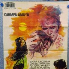 Cine: LOS TARANTOS. CARMEN AMAYA,SARA LEZANA,DANIEL MARTIN,. AÑO 1963. Lote 147251558
